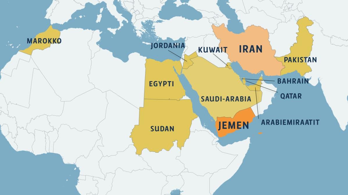 Jemeniin Valmiina Hyokkaamaan Valtava Asevoima Yle Uutiset Yle Fi