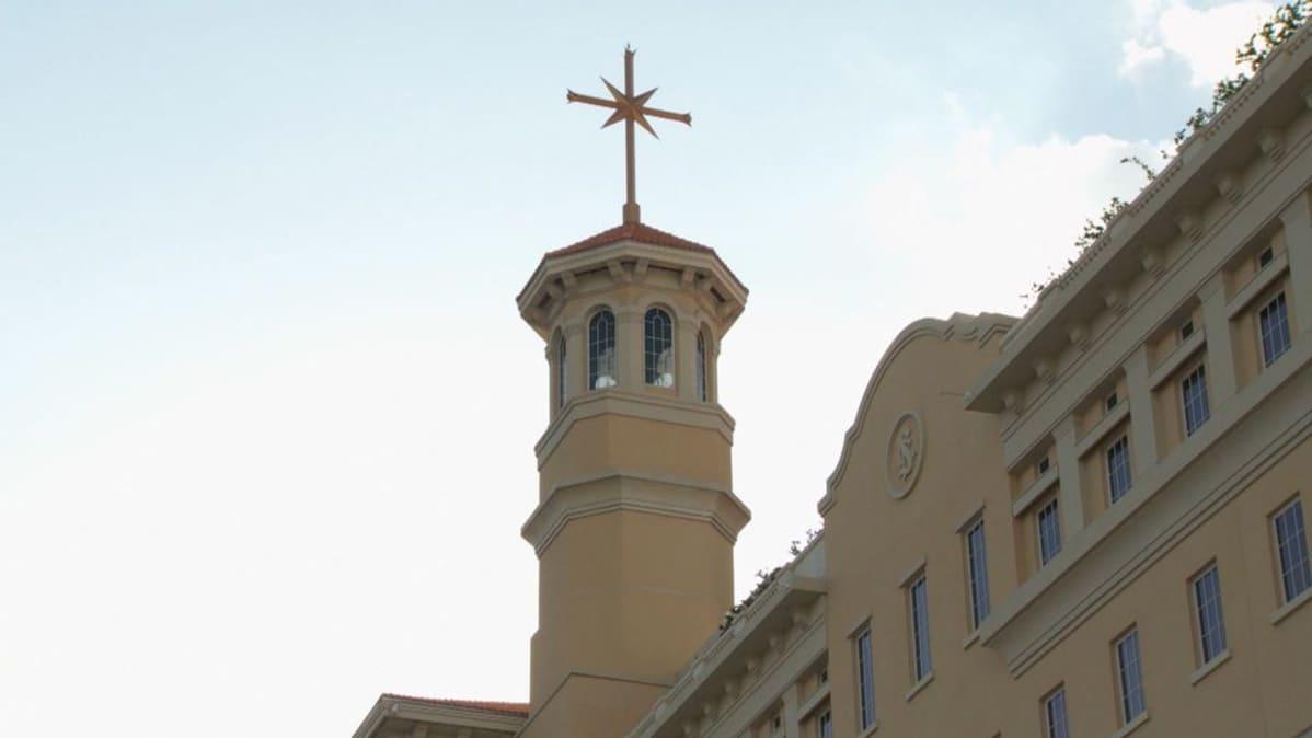 Skientologien päämajaa Floridassa kutsutaan nimellä Flag, lippu.