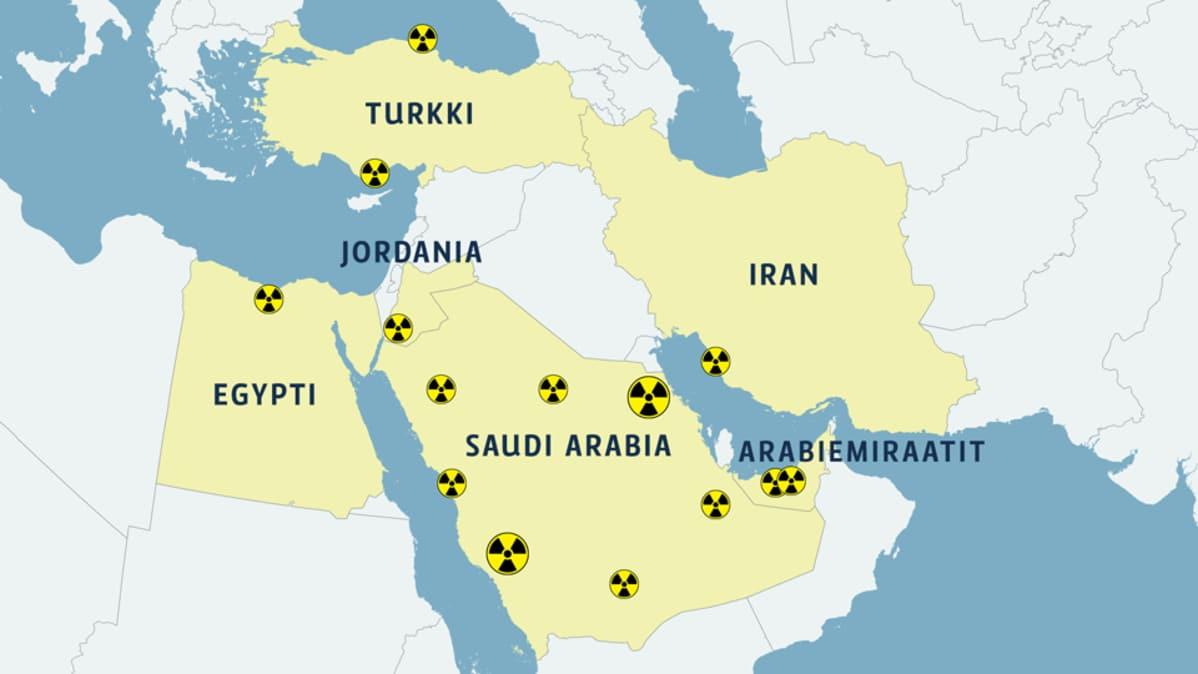 Lahi Idassa Kova Into Ydinvoimaan Suunnitteilla Kymmenia