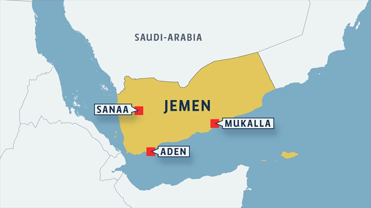 Saudi Arabian Johtaman Liittouman Maajoukkoja Saapui Jemeniin