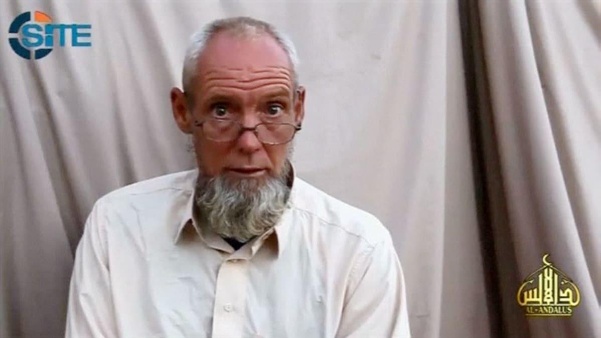 Sjaak Rijke vetosi hallitukseensa vapauttamisen puolesta 26. syyskuuta 2014.