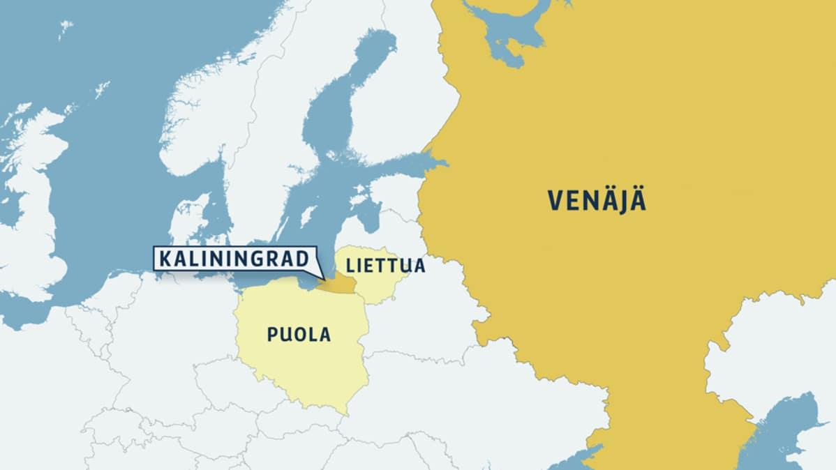 Venaja Huolehtii Kaliningradin Asemasta Kansallinen