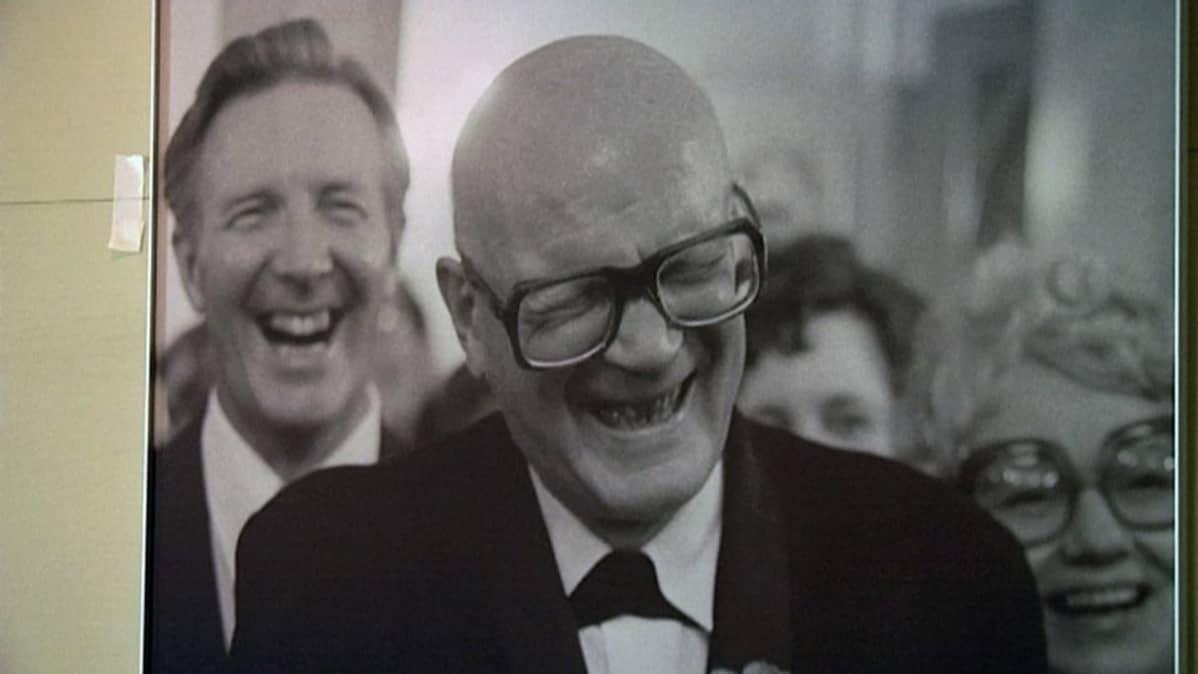 Heikki Rissanen ikuisti presidentin naurun vuonna 1975