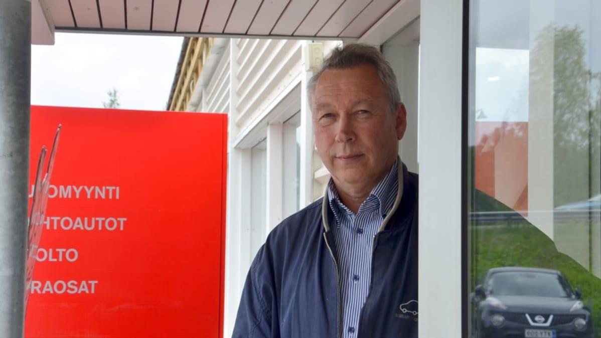 Eero Kontinen on ollut yrityksen palvelukssa joulukuusta 1974 lähtien.