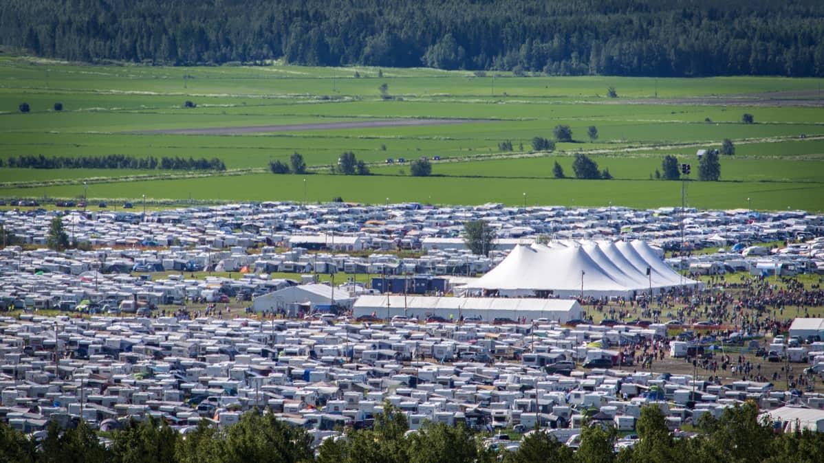 Jattimaisia Suviseuroja Valmistellaan Aanekoskella 70 000