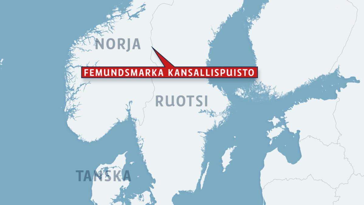 Kolme Kuollutta Loytynyt Kansallispuistosta Norjan Ja Ruotsin