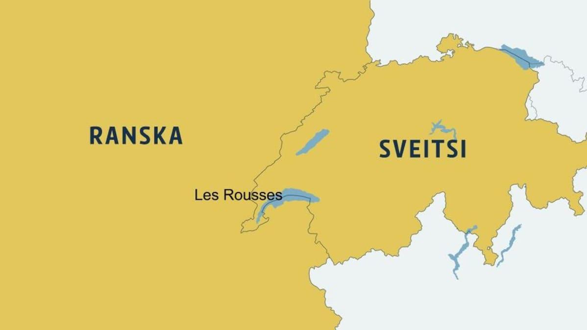 Sveitsin Armeija Varasti Vetta Ranskalaisjarvesta Yle Uutiset