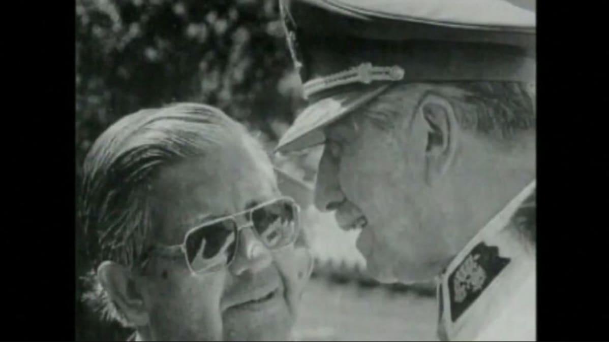 Contreras ja Pinochet