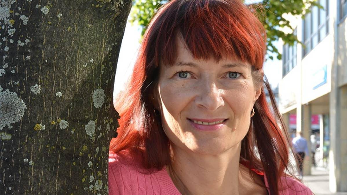 Tanssinopettaja Minna Palokangas.