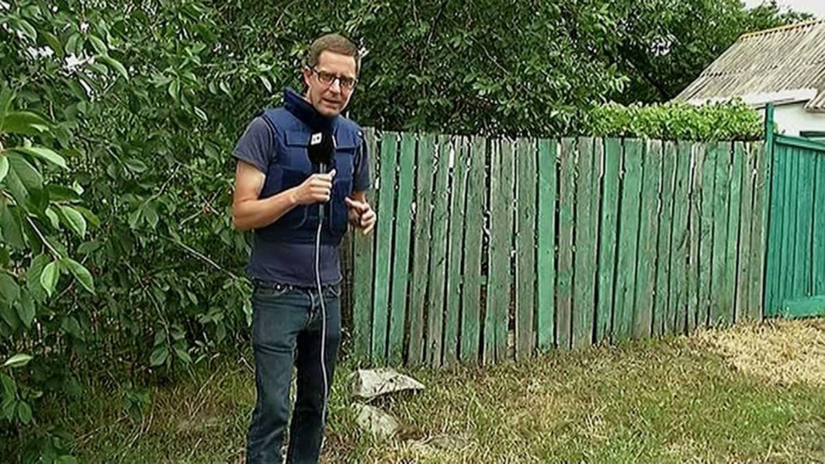 Antti Kuronen raportoi edellisen kerran Itä-Ukrainasta kesäkuussa.