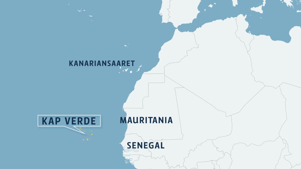 Kap Verde Selviytyi Harvinaisesta Hurrikaanista Vahin Vaurioin