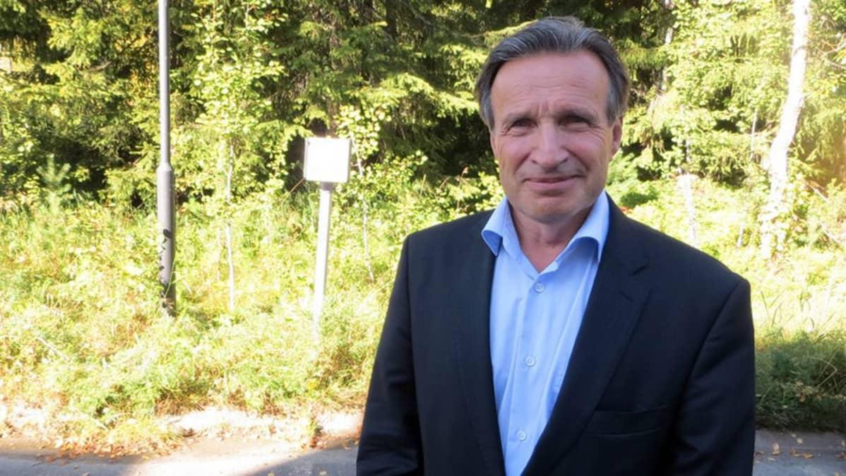 Meri-Lapin kehittämiskeskuksen toimitusjohtaja Martti Ruotsalainen