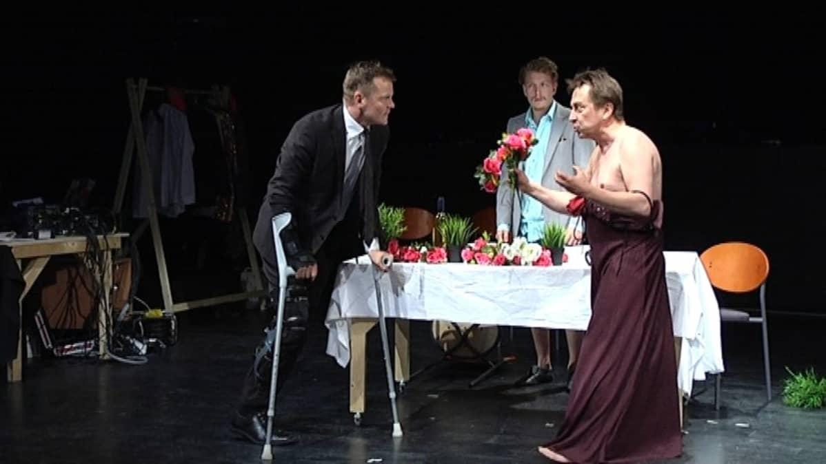 Vanha Juko tuo juhlasyksyynsä Shakespearen näytelmän Rikhard III