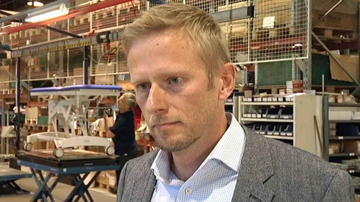 lojerin toimitusjohtaja Ville Laine