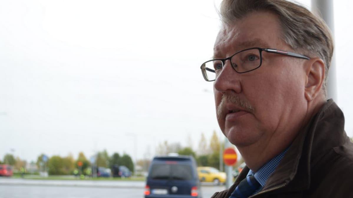Tornion tullin johtaja Juha Heikkilä.