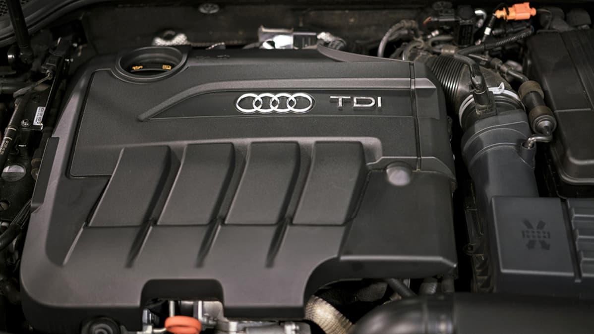 Volkswagenin valmistama Audin moottori.