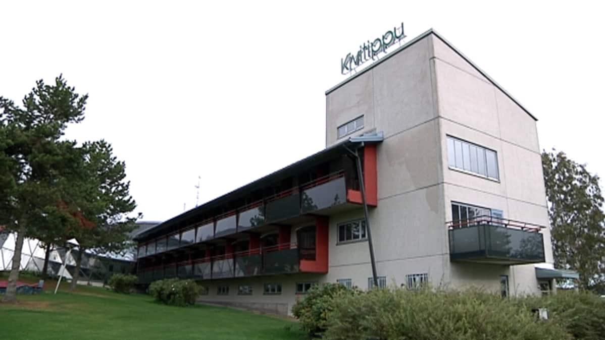 Vastaanottokeskus perustetaan Kivitippuun Lappajärvellä.