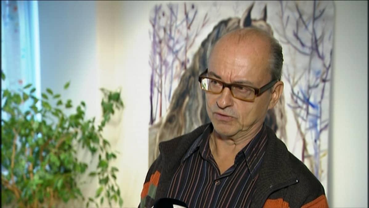 Palkansaajien tutkimuslaitoksen erikoistutkija Pekka Sauramo