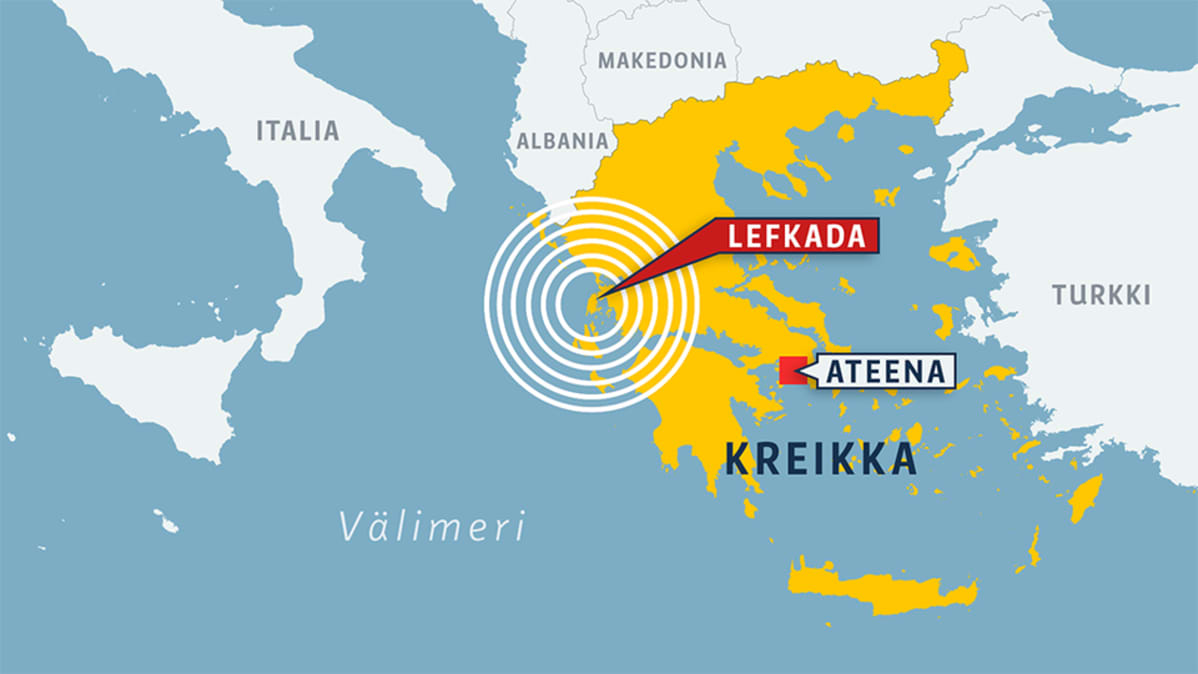 Maa Jarisi Kreikan Saaristossa Poikkeuksellisen Voimakkaasti