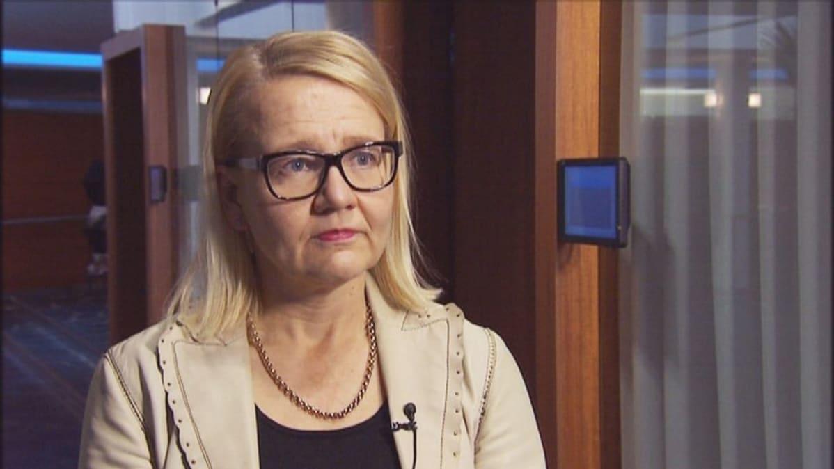 EK:n verojohtaja Virpi Pasanen.