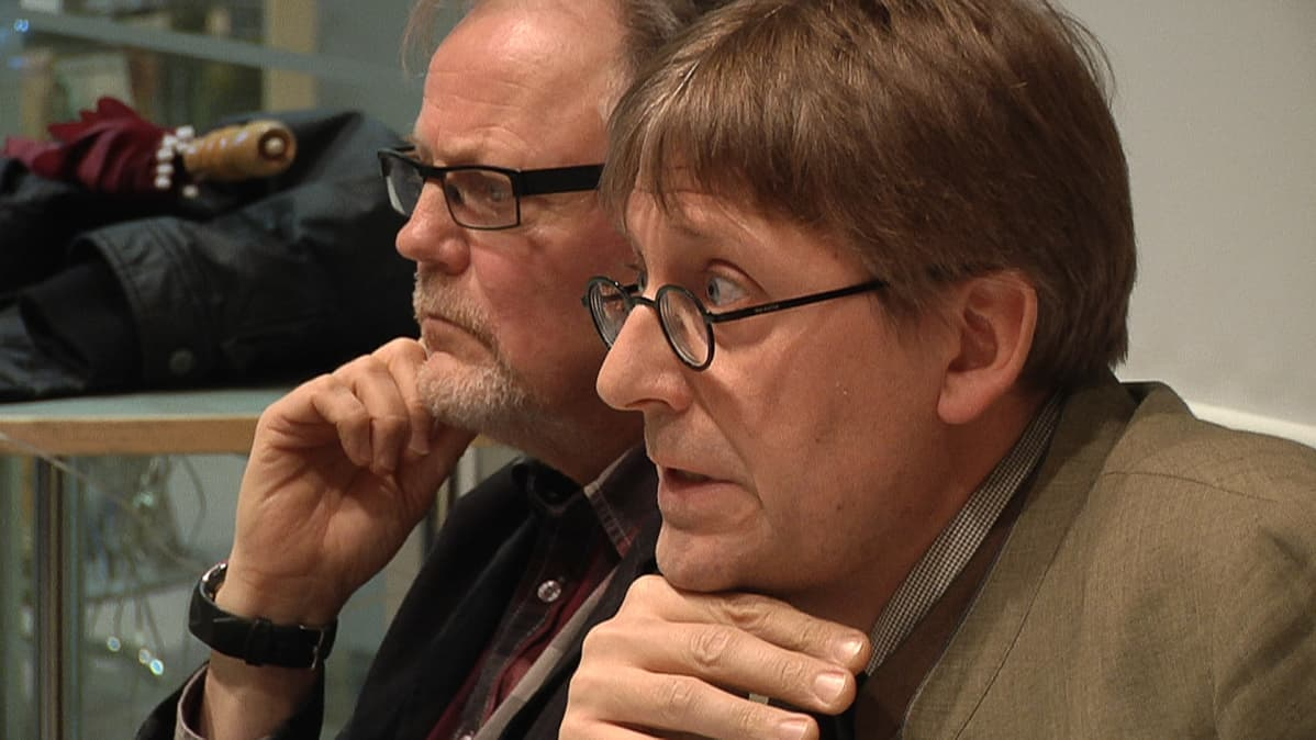 Jukka Hautala ja Otto sSalo