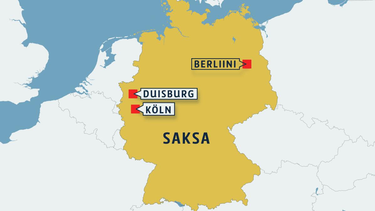Saksan Poliisi Ylelle Kolnin Operaatio Ei Mennyt Hyvin