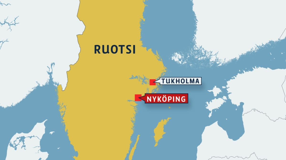 ruotsin kartta