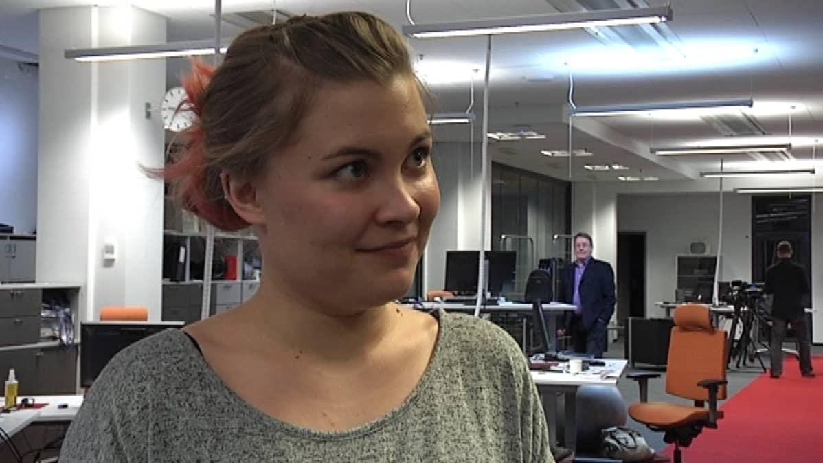 Elämäntapaliikkuja Anniina Räisänen.