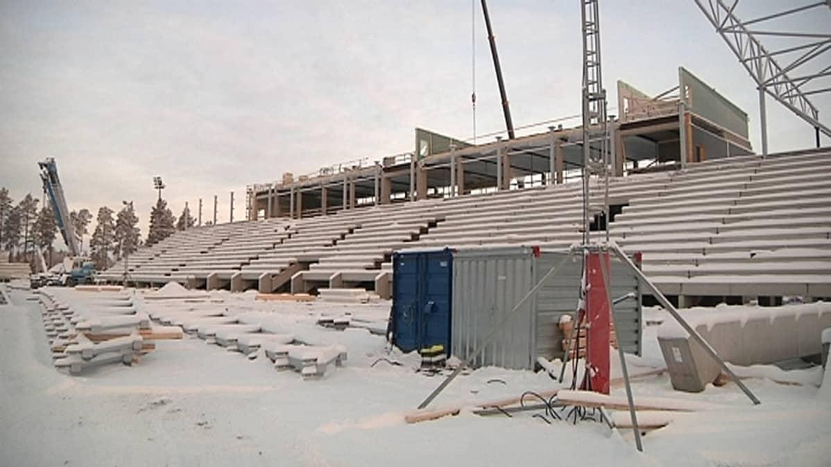 Seinäjoen jalkapallostadionin päärakennus