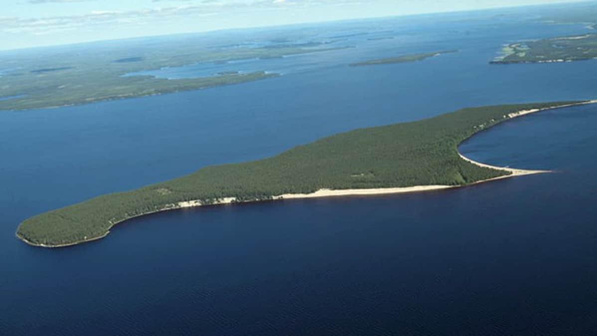 Ärjänsaari Oulujärvessä