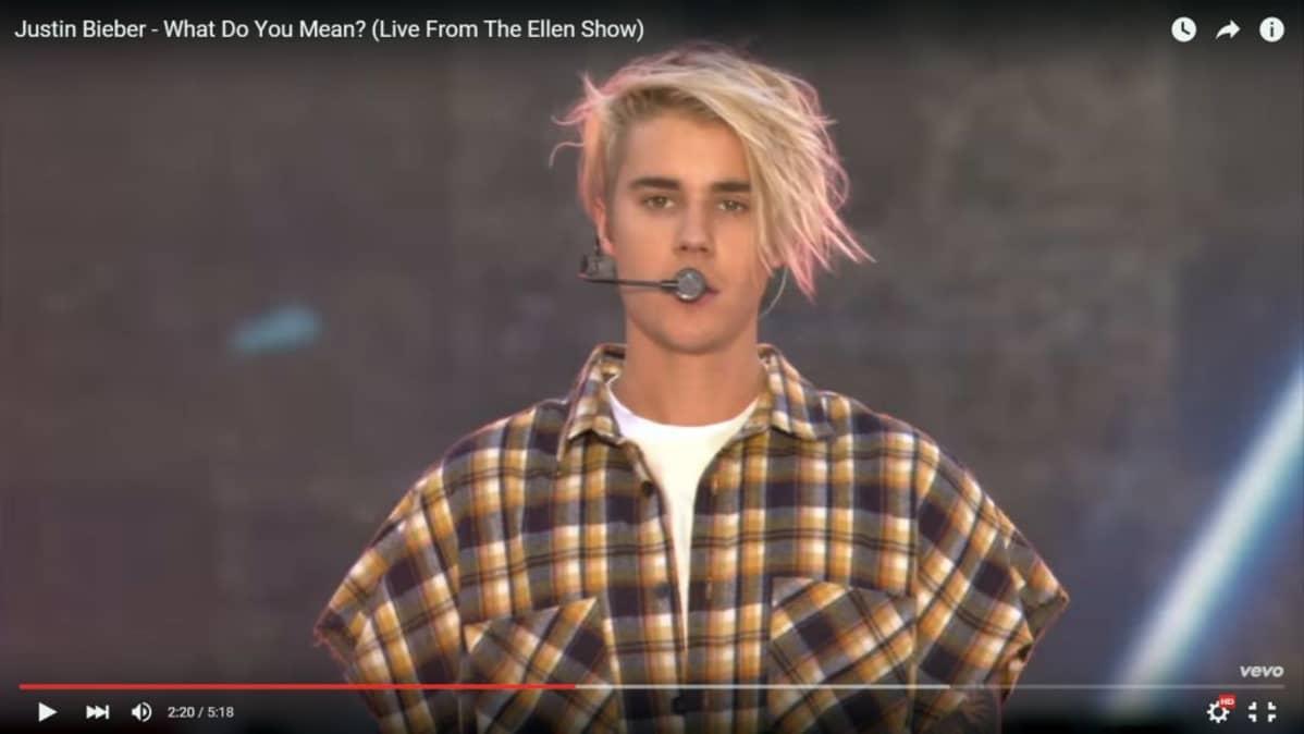 Justin Bieber päihittää kirkkaasti Adelen ja Madonnan YouTube-suosiossa.