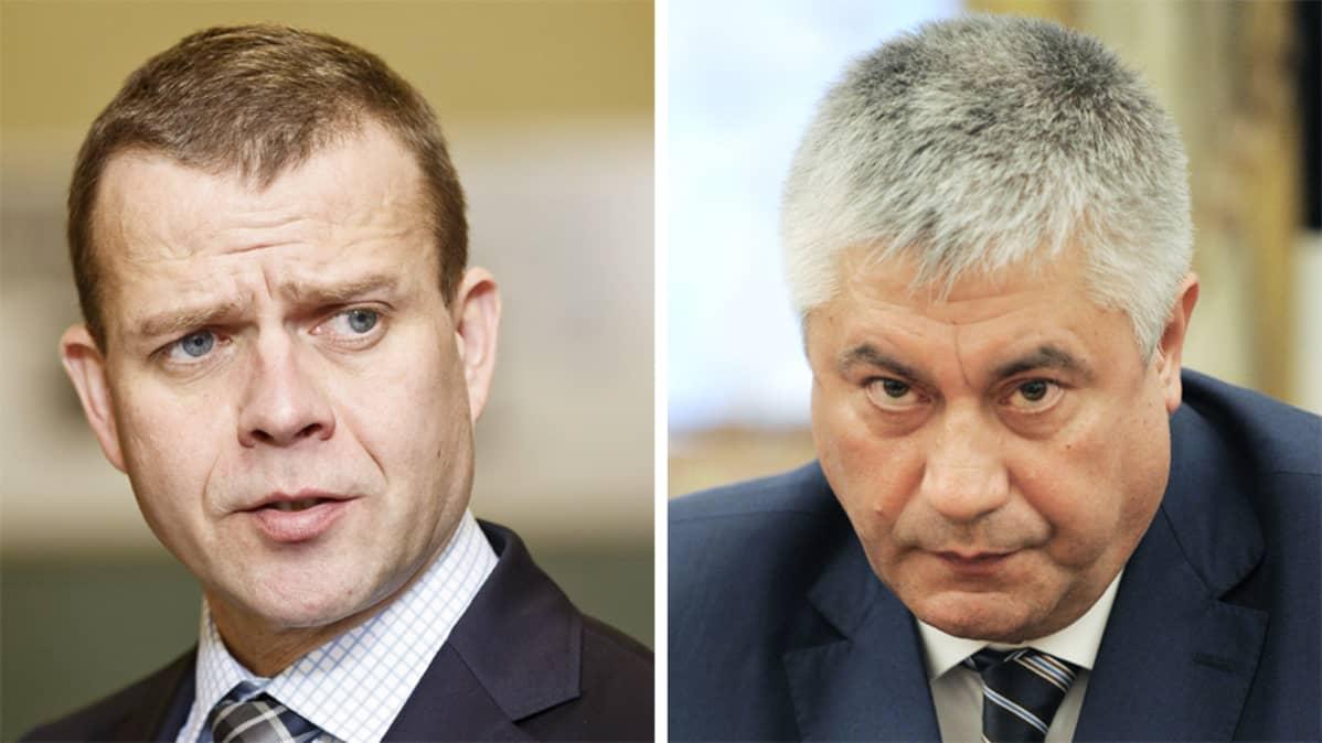 Petteri Orpo ja Vladimir Kolokoltsev