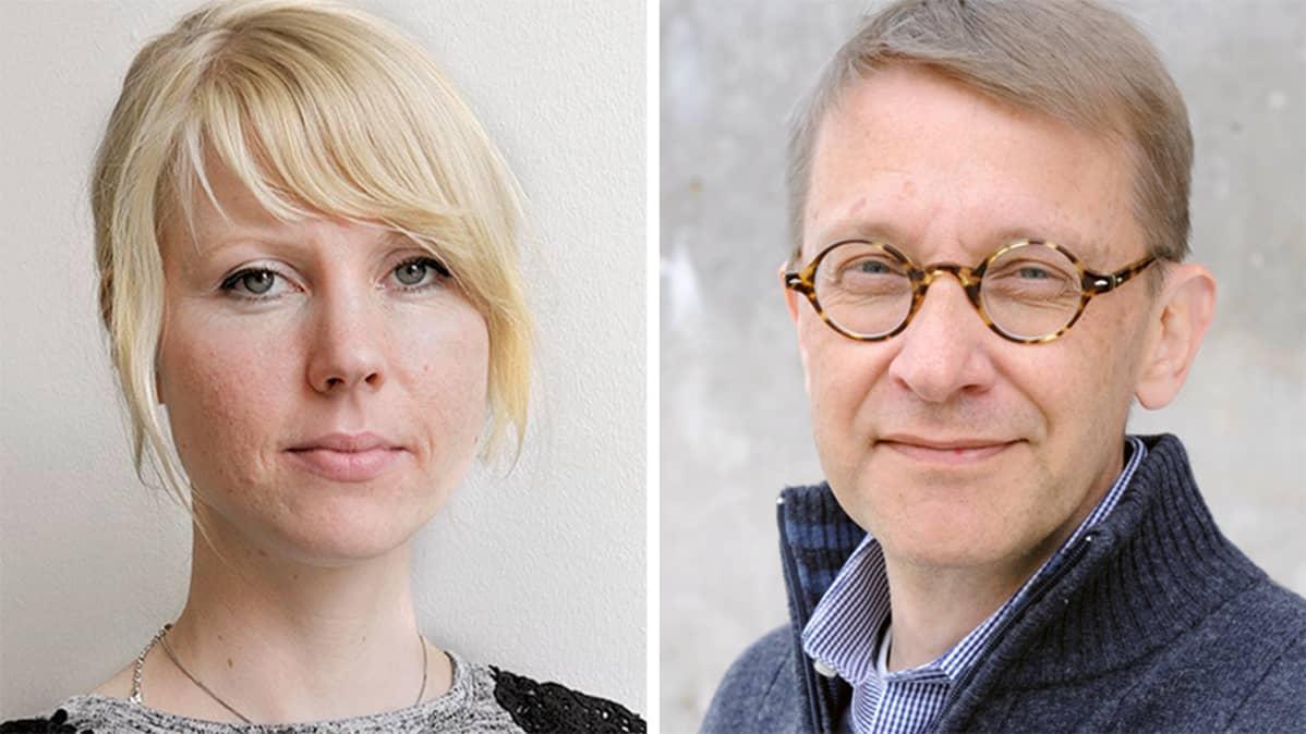 Jessikka Aro ja Tom Kankkonen