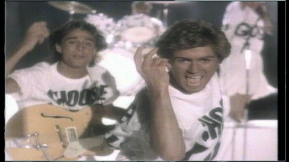 Wham! -yhtye nousi 80-luvulla suosioon muun muassa videoilla musiikkikanava MTV:llä.
