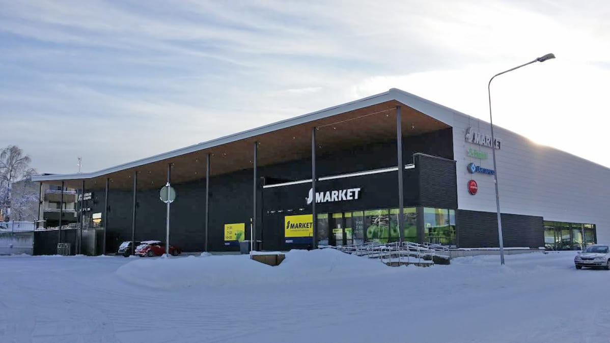 S-Market Uitto Kemijärvi helmikuu 2016