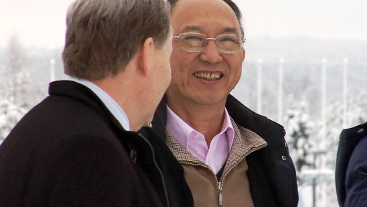 Kiinan urheiluministeri Liu Peng