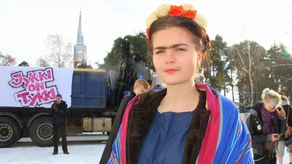 Abiturientti Sara Lammi.