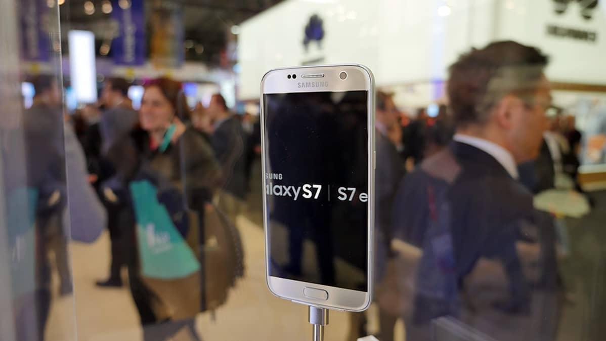 Samsung GalaxyS7.