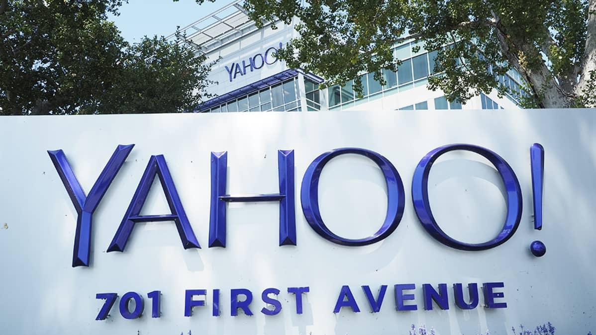 Yahoon pääkonttori Sunnyvalessa Kaliforniassa.