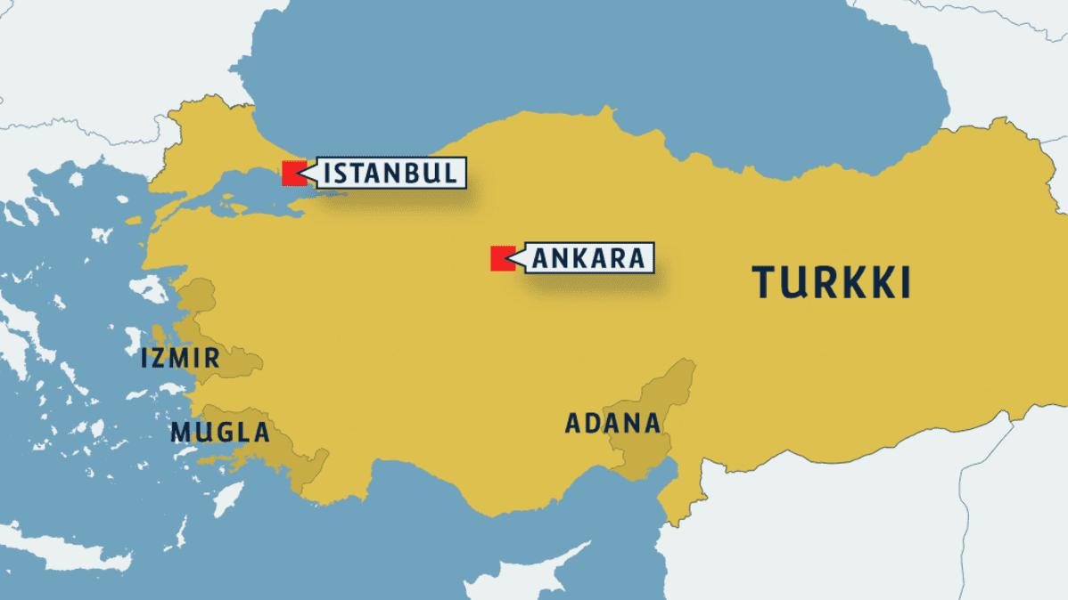 Yhdysvallat Evakuoi Henkilokuntaansa Turkin Etelaosista Yle