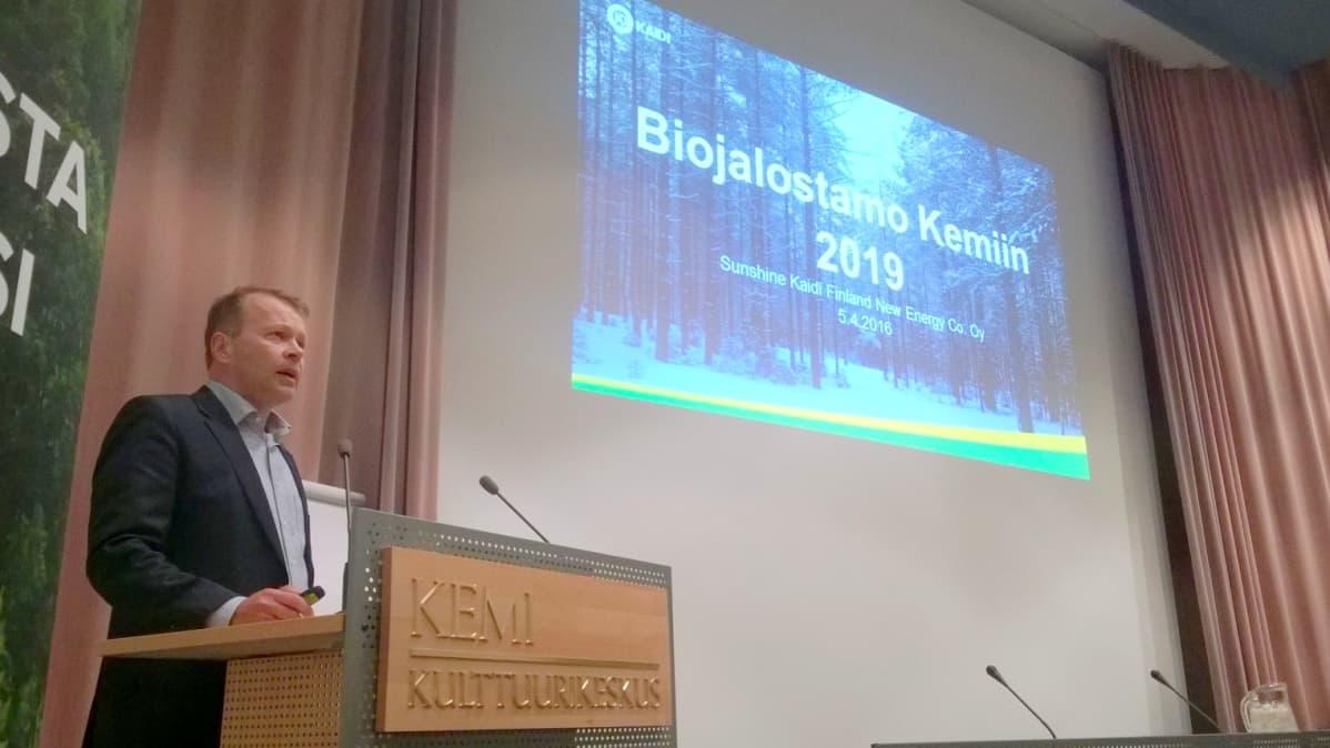 Kaidi Finlandin toimitusjohtaja Pekka Koponen