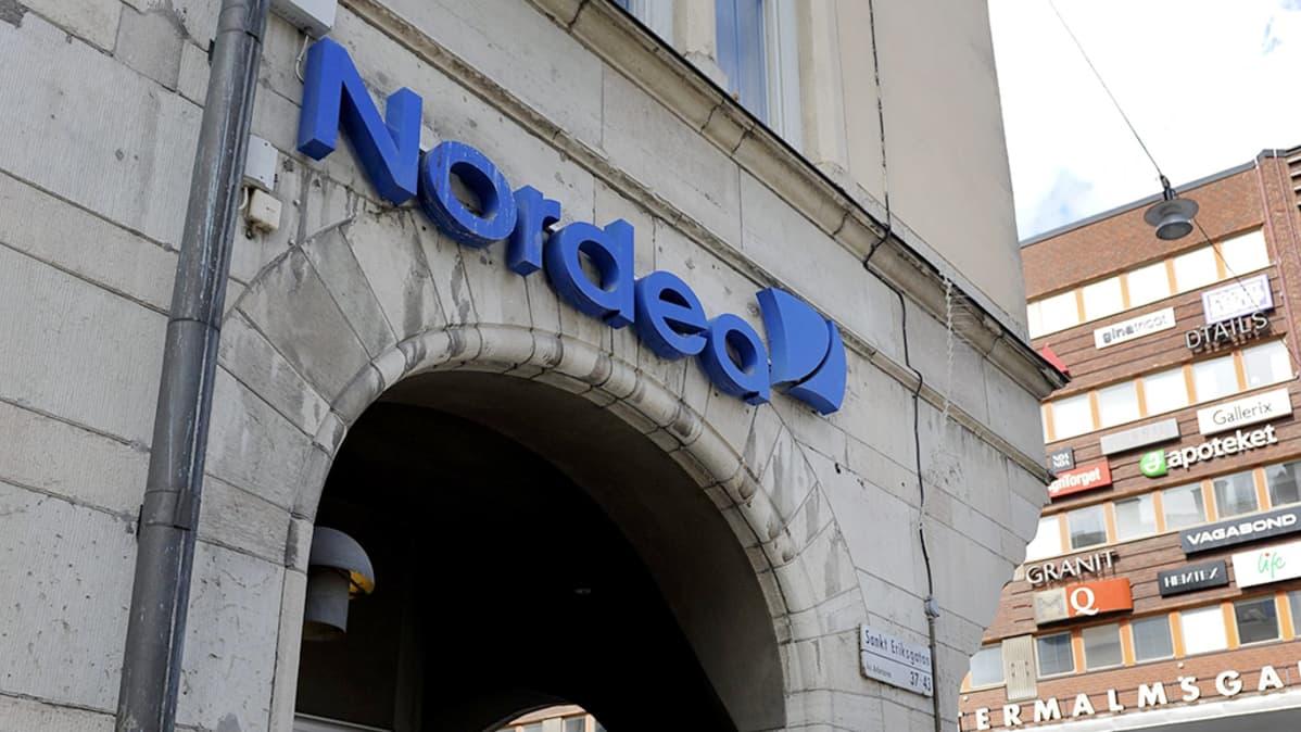 Nordea pankin pääkonttori Tukholmassa.