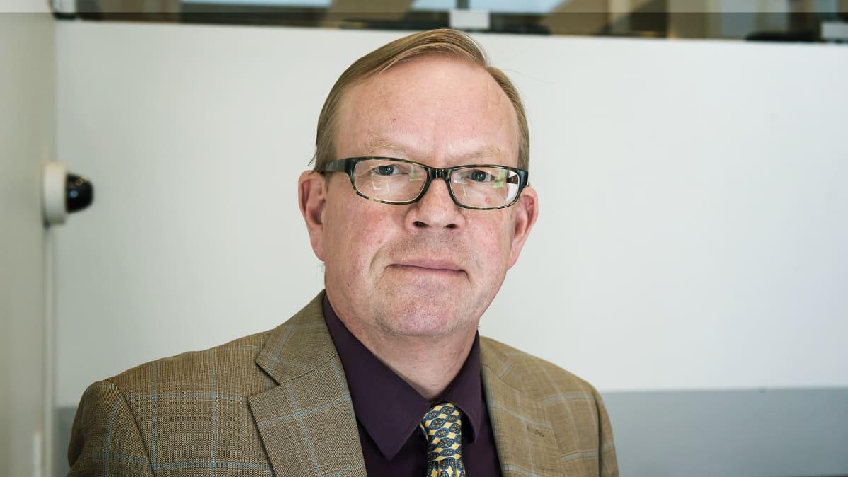 Työtuomioistuimen presidentti Jorma Saloheimo.