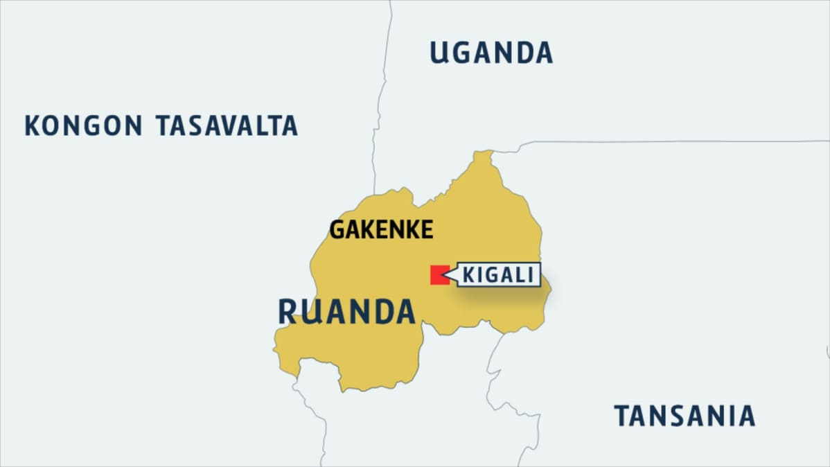 Maanvyoryt Tekevat Tuhoa Ruandassa Yle Uutiset Yle Fi
