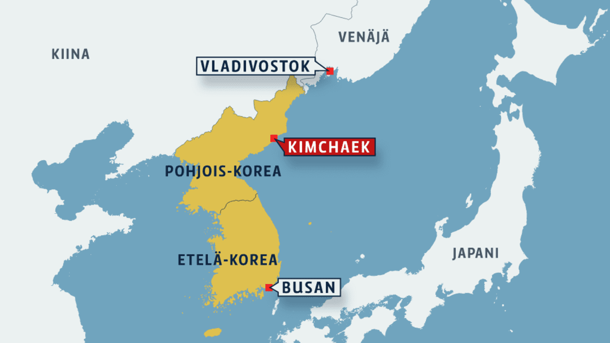 Venaja Pohjois Korea Pakotti Venalaisen Purjeveneen Satamaan