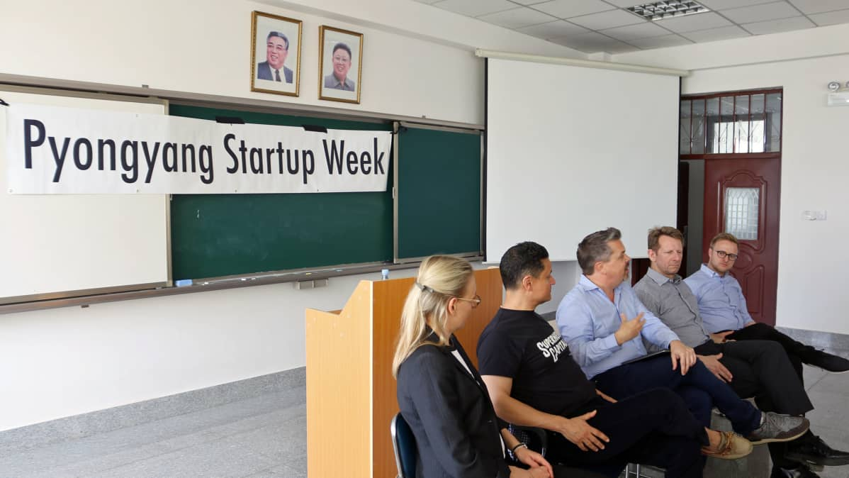 Startup Sauna Pohjois-Koreassa.