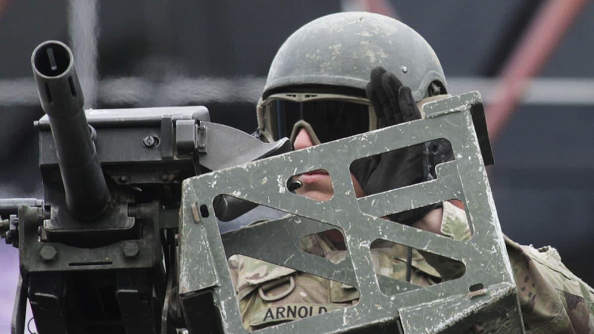 Amerikkalaissotilas.