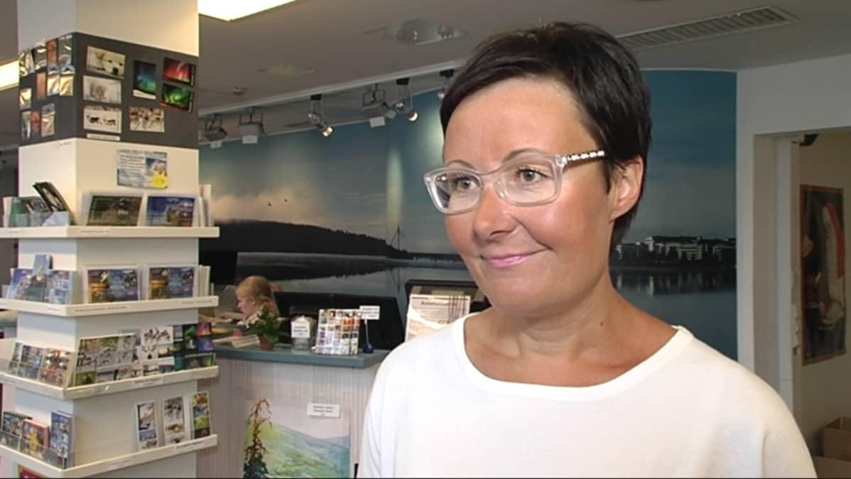 Visit Rovaniemen toimitusjohtaja Sanna Kärkkäinen.