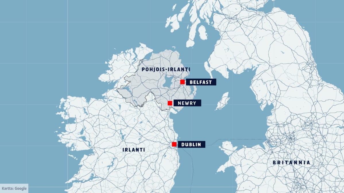 Yle Pohjois Irlannissa Brexit Aanestyksen Jalkeen Irlannin Passit