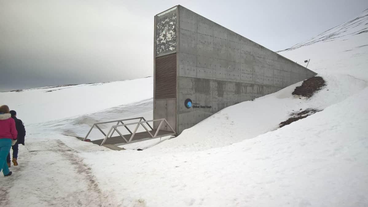 Huippuvuorten siemenholvi perustettiin vuonna 2008